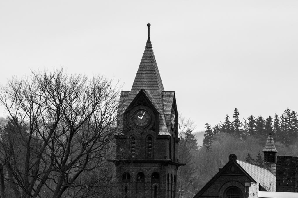 Church Clock - St. Albans Vermont