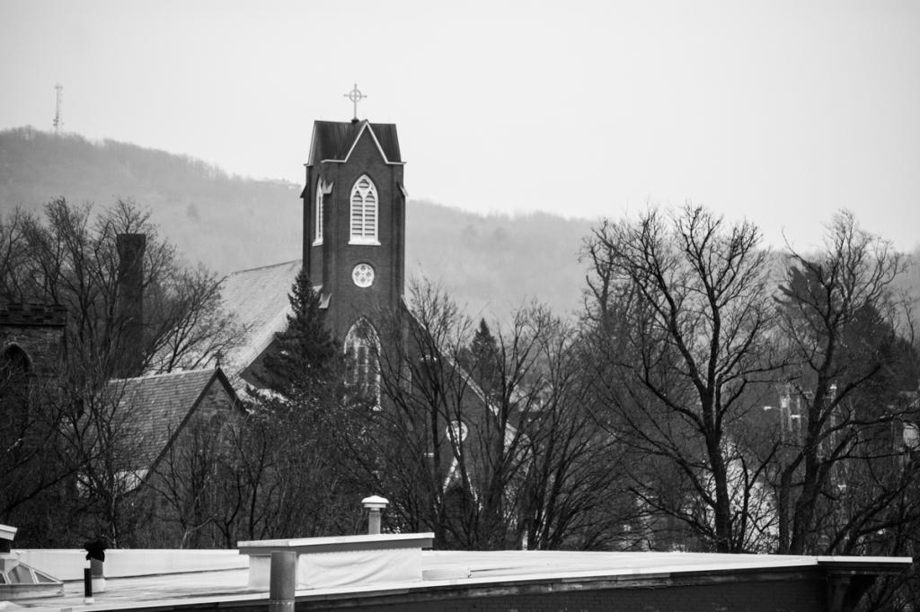Church Steeple - St. Albans Vermont